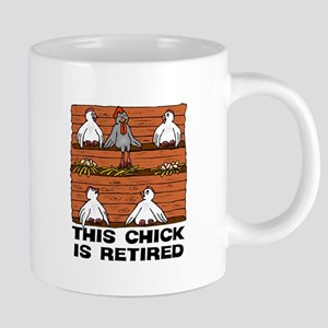 Retired Chick 20 oz Ceramic Mega Mug