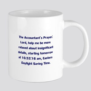 Accountant's Prayer Mugs
