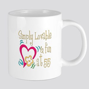 Lovable55 20 oz Ceramic Mega Mug