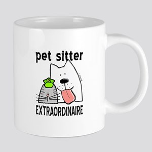 Pet Sitter Extraordinaire Mugs