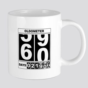 60th Birthday Oldometer Mugs