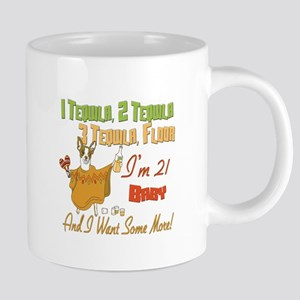Tequila Birthday 21 20 oz Ceramic Mega Mug
