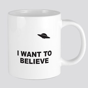 I Want To Believe Stainless Steel Travel Mugs