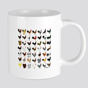 49 Roosters Mugs