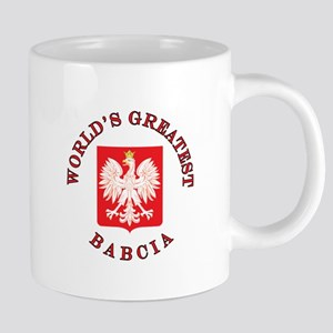 Worlds Greatest Babcia 20 oz Ceramic Mega Mug