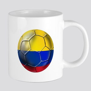 Colombia Soccer Ball 20 oz Ceramic Mega Mug
