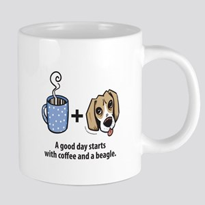 Coffee and a beagle Mugs