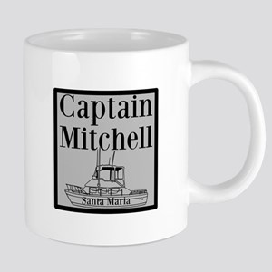 Personalized captain fishing boat 20 oz Ceramic Me