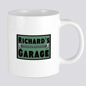 Personalized Garage 20 oz Ceramic Mega Mug