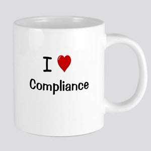 I Love Compliance Fully Compliant Mugs