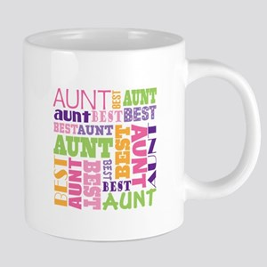 Best Aunt Collage 20 oz Ceramic Mega Mug