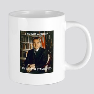 i am not a crook 20 oz Ceramic Mega Mug