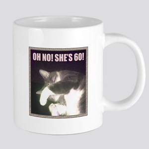 Funny 60th Birthday (Cat) 20 oz Ceramic Mega Mug