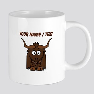 Custom Cartoon Yak 20 oz Ceramic Mega Mug