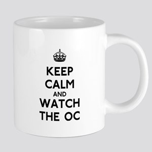 Keep Calm Watch The OC 20 oz Ceramic Mega Mug