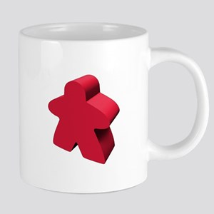 Red Meeple 20 oz Ceramic Mega Mug