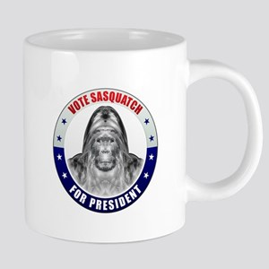 Sasquatch For President 20 oz Ceramic Mega Mug