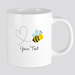 Cute Bee and Heart; honeybee; Personalized Kid's 2