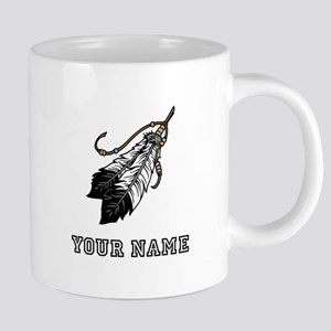 Native American Feathers (Custom) Mugs