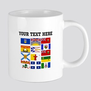 Custom Canadian Provinces 20 oz Ceramic Mega Mug