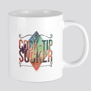 cock-tip sucker Mugs