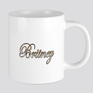 Gold Britney Mugs