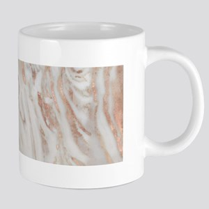 Rose Gold Marble Mugs