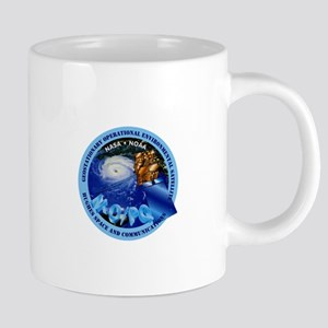 GOES Hughes Logo 20 oz Ceramic Mega Mug