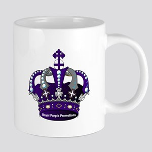 Purple Royal Crown Mugs