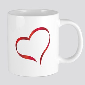 heart03 20 oz Ceramic Mega Mug