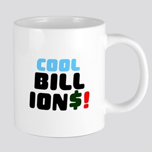 COOL BILLIONS! Small Mugs
