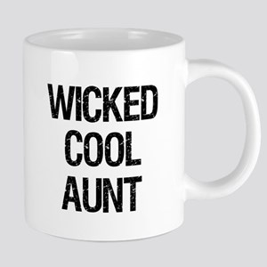 Wicked Cool Aunt! Mugs