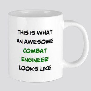awesome combat engineer 20 oz Ceramic Mega Mug
