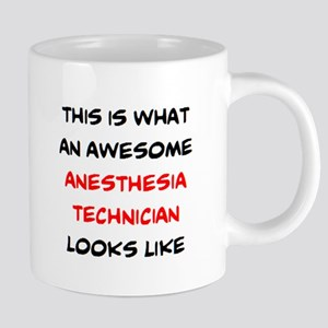 awesome anesthesia technici 20 oz Ceramic Mega Mug