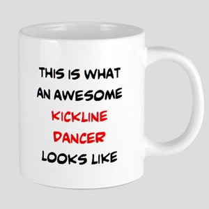 awesome kickline dancer 20 oz Ceramic Mega Mug