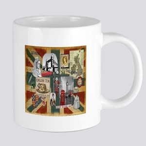 Anglophiles Delight Stainless Steel Travel Mugs
