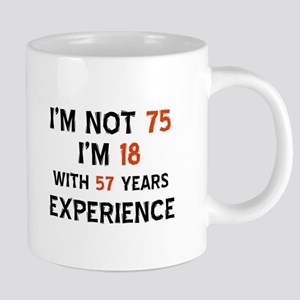 75 year old designs Mugs