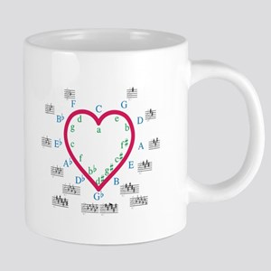 The Heart of Fifths Mugs