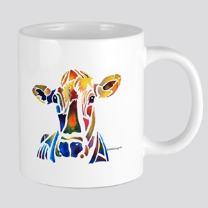 Whimzical Original Cow Art Mugs