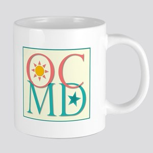 Ocean City, Maryland--Sun and Stars 20 oz Ceramic