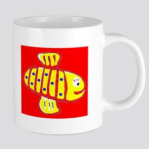 Red Hilo Bee 4Halley Mugs