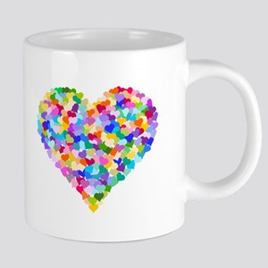 Rainbow Heart of Hearts Mugs