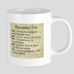 December 21st 20 oz Ceramic Mega Mug