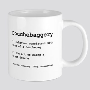 Douchebaggery Mugs