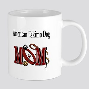 American Eskimo Dog Mom Stainless Steel Trave Mugs