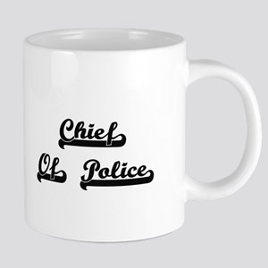 Chief Of Police Artistic Job Design Mugs