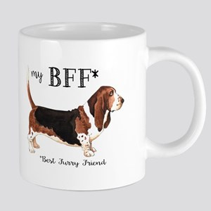 Basset BFF Stainless Steel Travel Mugs