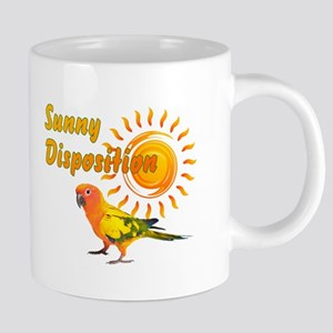 Sun Conure Parrot Sunshine Sunny Disposition Mugs
