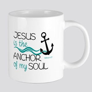 Jesus is the Anchor Mugs