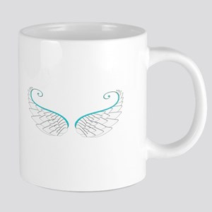 Angel Wings 20 oz Ceramic Mega Mug